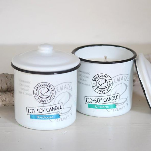 Up North White Water Candles -