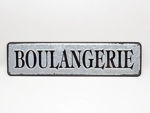 BOULANGERIE 3D Metal  Sign