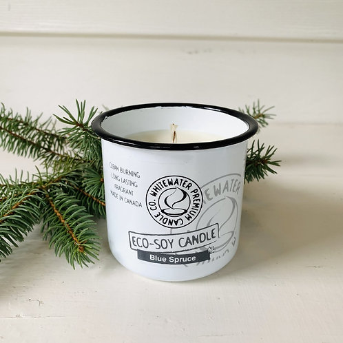 Blue SpruceWhite Water Candles -