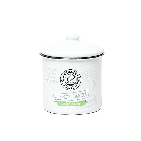 Coconut Lime White Water Candles -