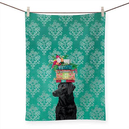 A Woman's Best Friend - 100 % Cotton Tea Towel
