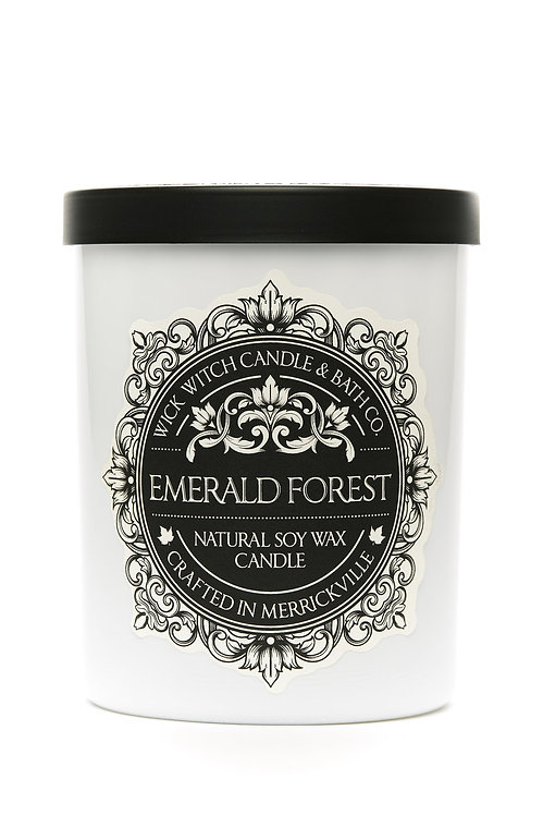 Emerald Forest - Wick Witch Natural Soy Wax Candle