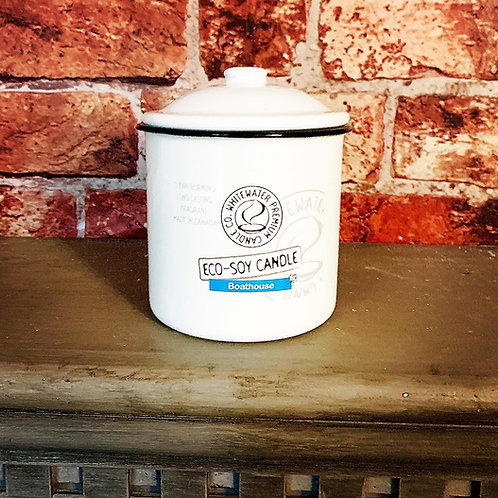 Boathouse White Water Candles -