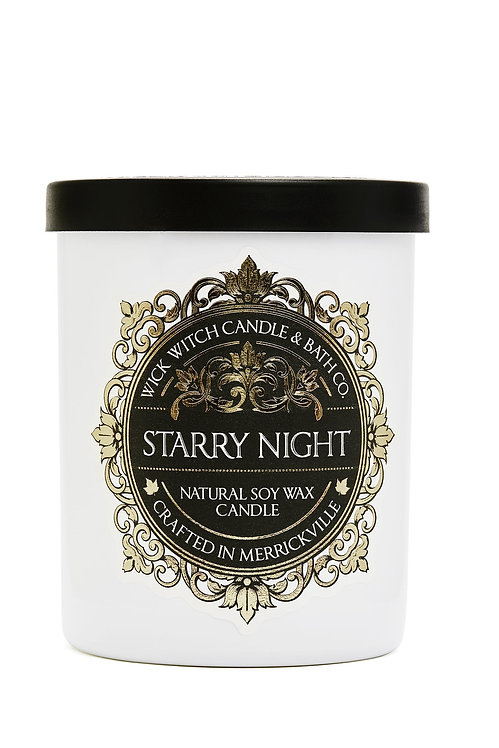 Starry Night - Wick Witch Natural Soy Wax Candle