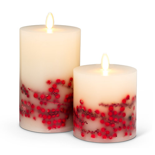 Reallite LED Candle -Berries