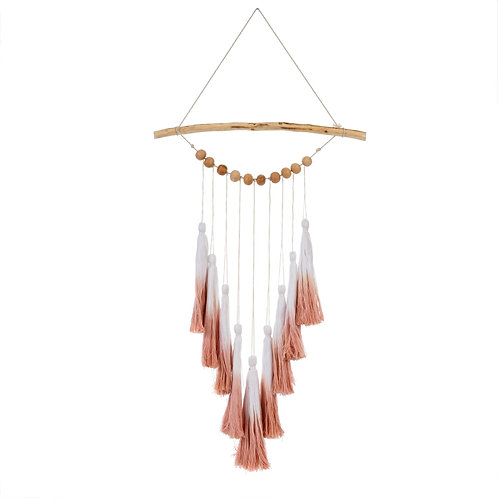 Ombre Tassel Wall Hanging - Pink