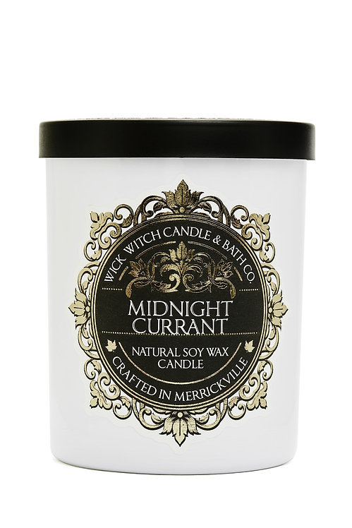 Midnight Currant - Wick Witch Natural Soy Wax Candle