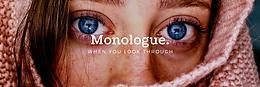 Monologue   30th Sept'20