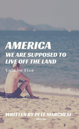 America We are supposed to live off the land - Paperback