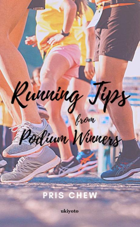 Running Tips from Podium Winners - Paperback