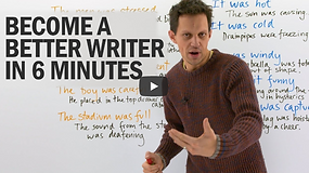 Write A Story Not 'Tell' A Story: Writing Strategies