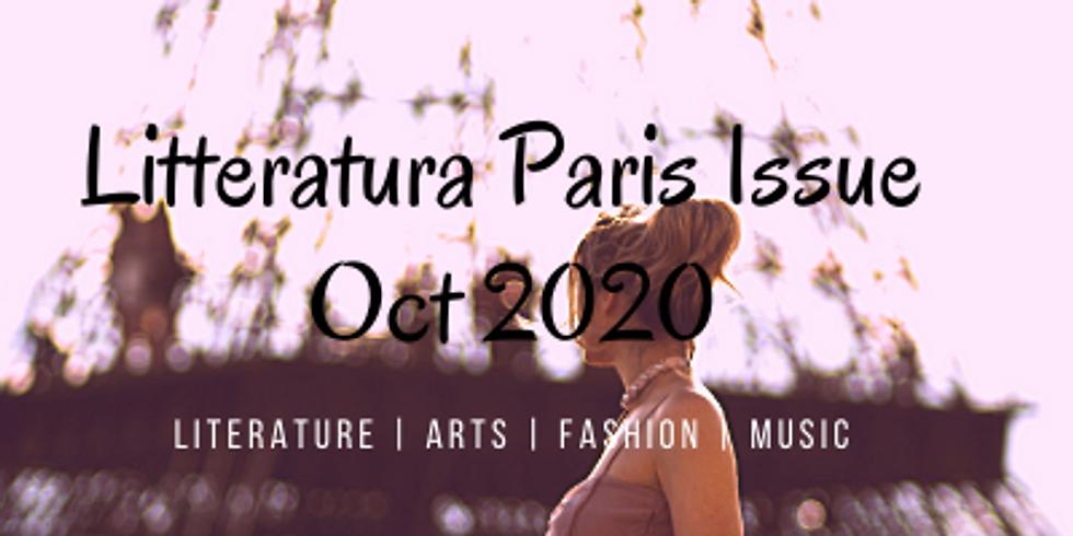 Feature in Litteratura Paris Issue