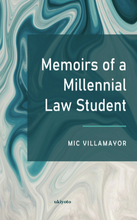 Memoirs of a millennial law student - Paperback