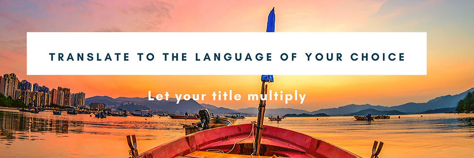 Translate your book to more than 23 lang