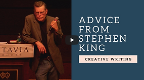Creative Writing Advice & Lessons From Stephen King