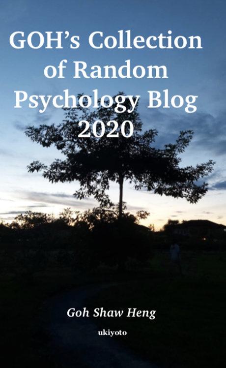 GOH�s Collection of Random Psychology Blog 2020 - Paperback