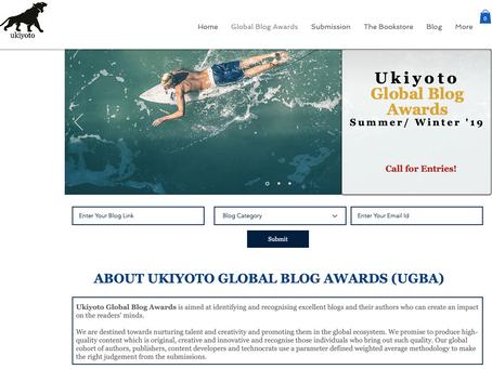 Global Blog Awards 2019