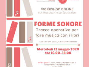 Workshop online | formazione didattica musicale