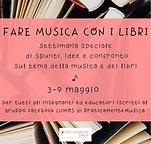 grafica settimana della musica e libri s