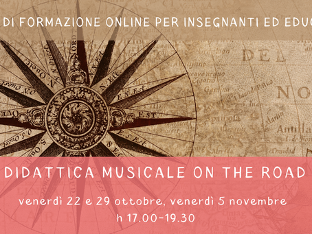 DIDATTICA MUSICALE ON THE ROAD