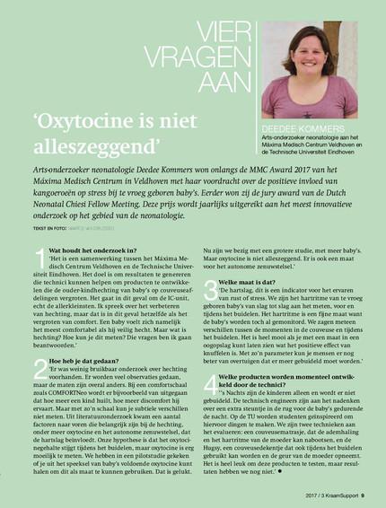 Interview vakblad KraamSupport