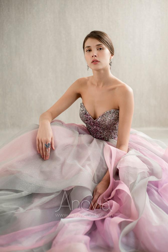 穿紗裙不只感覺浪漫?一次過滿足多種視覺享受的漸變設計