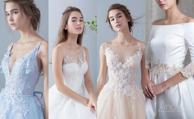 婚紗晚裝潮流攻略 | 演繹最美新娘造型