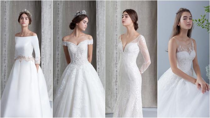 婚紗設計 | 最受歡迎的四種風格