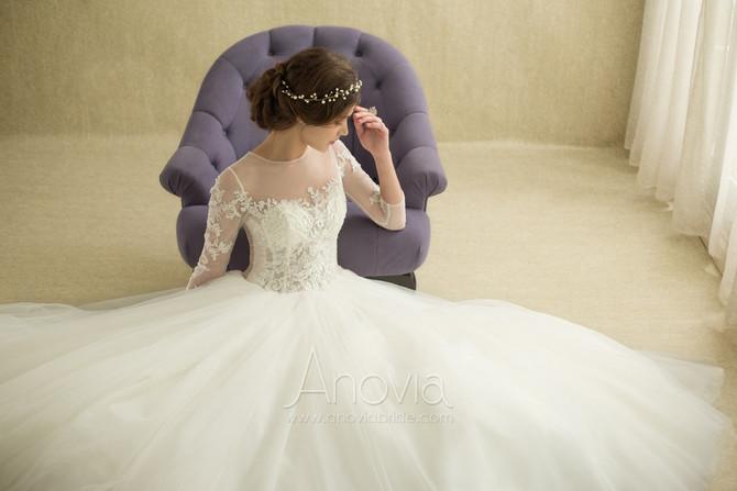 有袖婚紗不只限典雅的王妃造型!一定要認識的多種袖款設計!