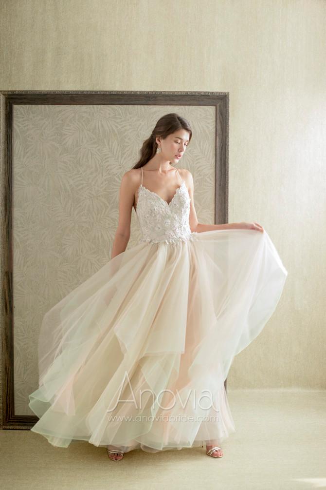 仙氣滿瀉 | 輕盈飄逸的紗與蕾絲