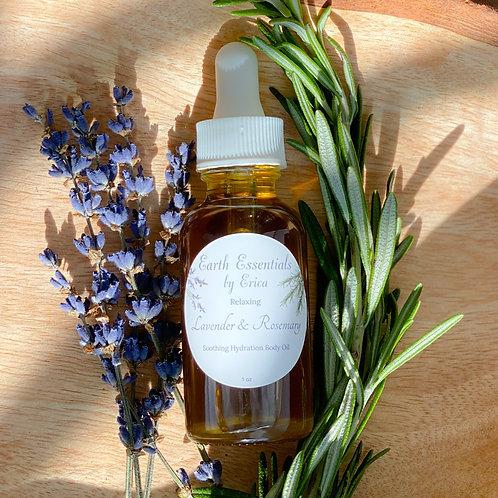 Lavender & Rosemary Body Oil