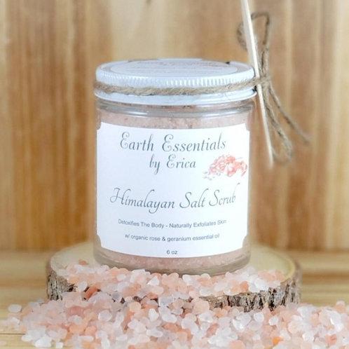 Wild Rose Himalayan Salt Scrub