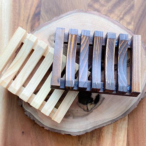 Wood Soap Holder