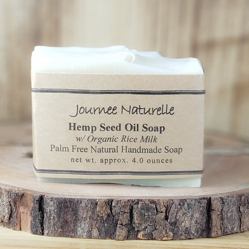 Hemp Seed Oil Soap by Journee Naturelle