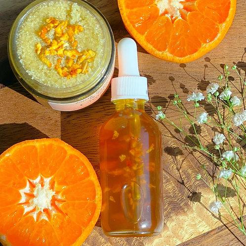 Creamsicle Body Oil and Sugar Scrub
