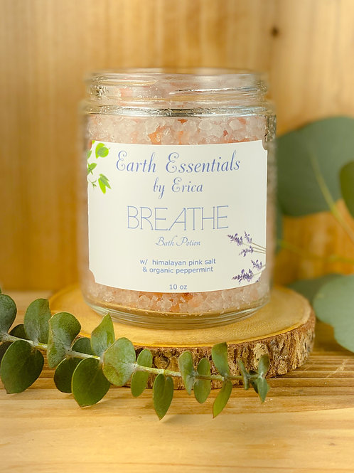 """Breathe"" Bath Potion"