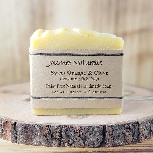 Sweet Orange & Clove Soap by Journee Naturelle