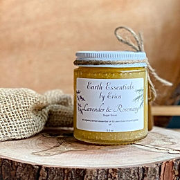 Lavender & Rosemary Sugar Scrub - I love