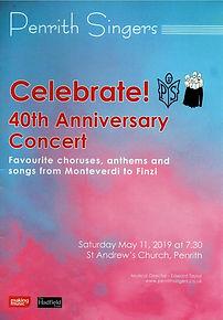 Celebrate! 40th Anniversary Concert