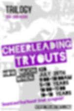 Copy of Cheerleading Poster Template - M
