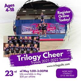Copy of School Cheerleading Team Tryouts