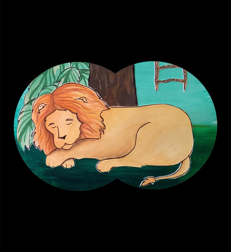 Sssssh! Dont wake the lion! (2)