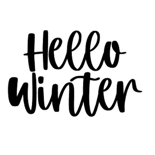 Vinyl Add-On - Hello Winter!