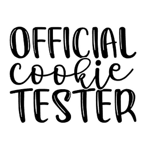 Vinyl Add-On - Official Cookie Tester!