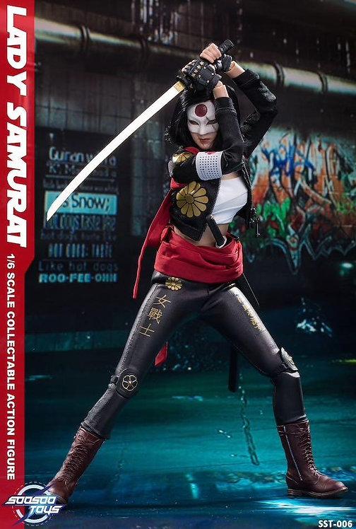 Soosootoys SST006 Lady Samurai 1/6 Figure