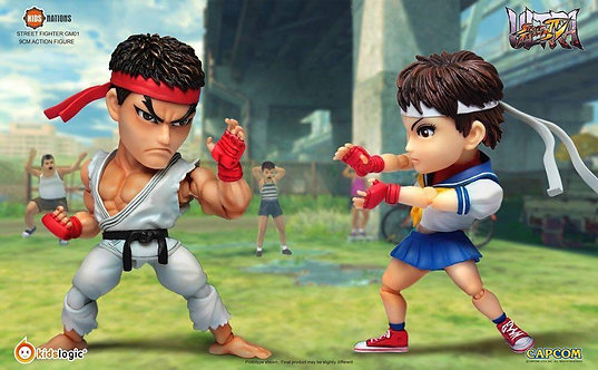 Kids Nation GM01 Ryu vs Sakura Street Fighter