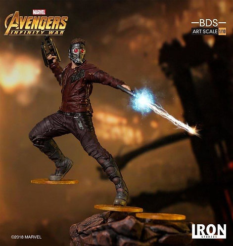 Iron Studios 1/10 art scale infinity war Star Lord statue