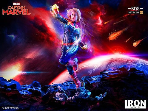 Iron Studios 1/10 art scale Captain Marvel statue