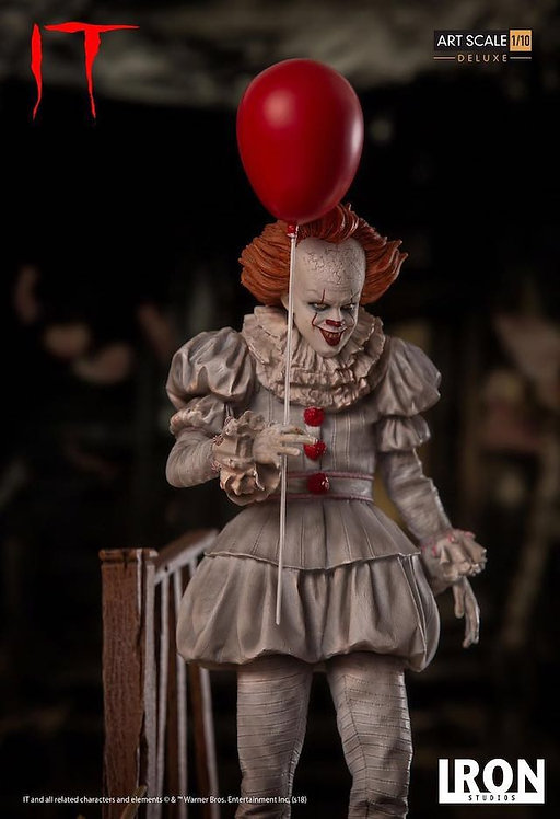 Iron Studios art scale 1/10 IT Pennywise statue (Deluxe Version)