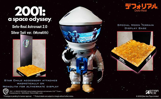 Star Ace Toys SA6030 DF Discovery Astronaut (Silver ver. w/ Monolith & Star Child)